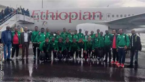 Ethiopia's under-15 squad