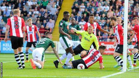 Exeter City v Plymouth Argyle