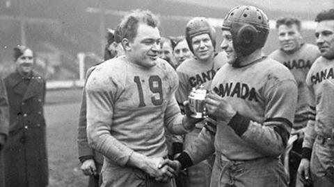 NFL: When American football came to London in World War Two