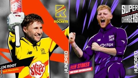 Joe Root and Ben Stokes revealed as picks in The Hundred