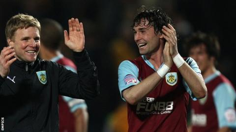Chris Eagles enjoyed the most successful spell of his much-travelled career at Burnley before being left go by Eddie Howe in the summer of 2011