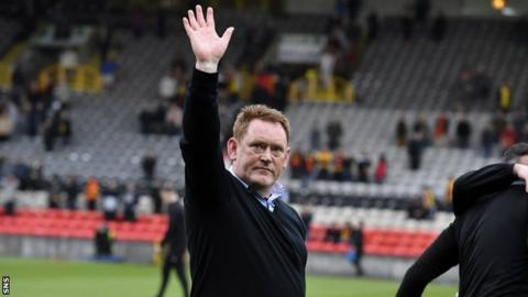 Former Livingston manager David Hopkin