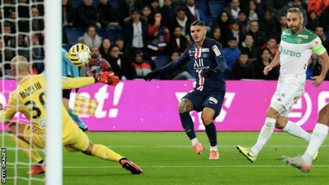 Mauro Icardi hat trick and assist in PSG win vs. St-Etienne