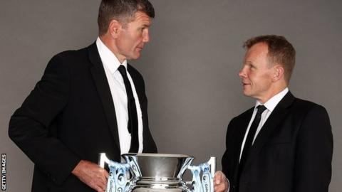 Rob Baxter and Mark McCall