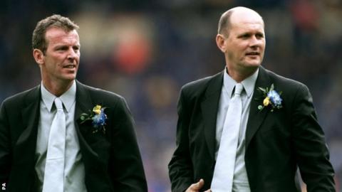 Graham Rix and Gwyn Williams