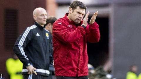 Rangers caretaker manager Graeme Murty