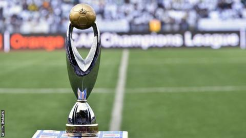 16 teams are fighting to win this Confederation of African Fooball's Champions League trophy