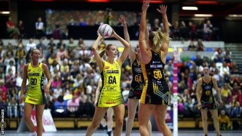 Manchester Thunder's Kathryn Turner