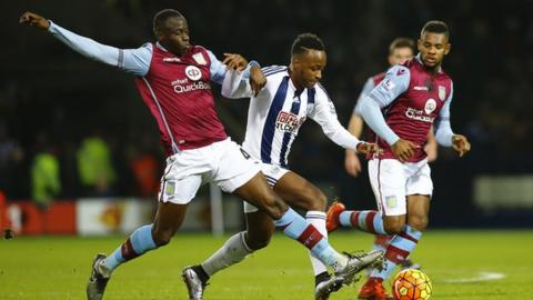 Saido Berahino entered the fray against Aston Villa at The Hawthorns as a 60th minute substitute