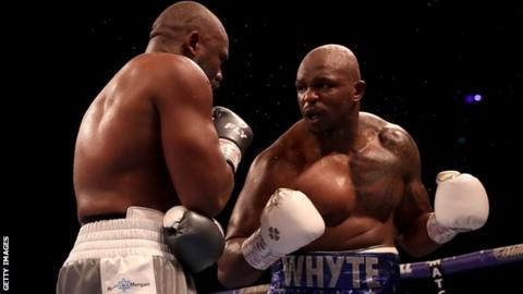 Dillian Whyte to face Colombian Oscar Rivas in July