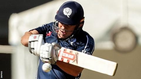 George Munsey's 86 helped Scotland beat Ireland in Tuesday's T20 World Cup warm-up game
