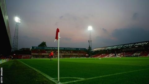 Brentford FC's current home ground Griffin Park