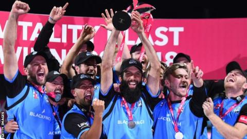 Worcestershire Rapids win 2018 T20 Blast