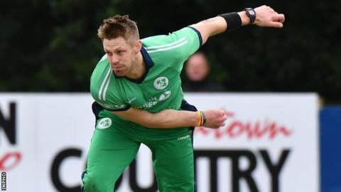 Ireland bowler Rankin earned one Test cap for England five years ago