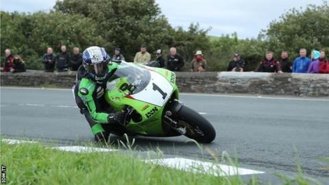 Isle of Man Classic TT: Horst Saiger set to lead off the Superbike race