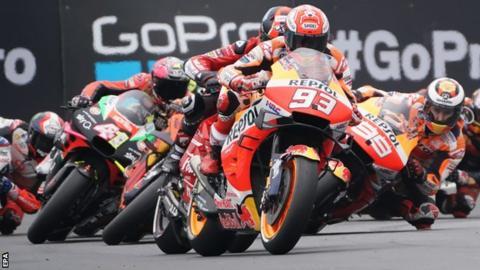 MotoGP: Marc Marquez wins in Le Mans to extend title lead