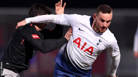 Janssen was not given a squad number by Tottenham this season