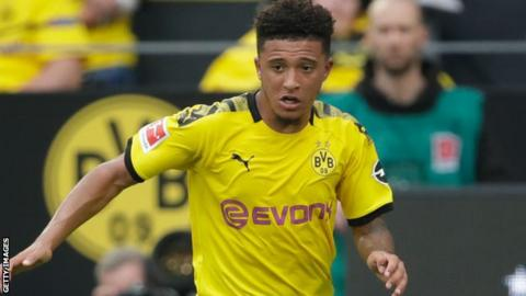 Jadon Sancho: England winger fears players will fall out of