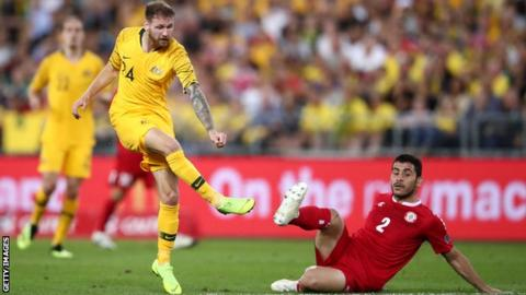 Australia vs. Lebanon - Football Match Report
