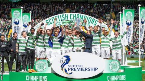 Celtic were winners of the 2017/18 Premiership title