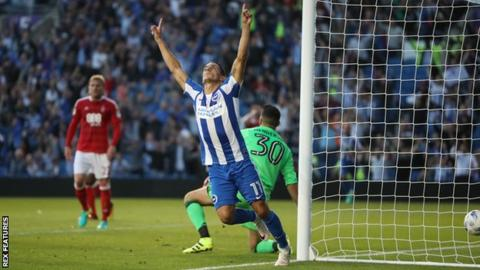 Brighton winger Anthony Knockaert
