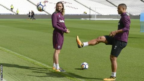 West Ham's Carroll and Reid face 3 months out injured