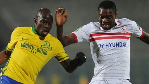Sundowns beat Zamalek twice in the group stage of the Champions League