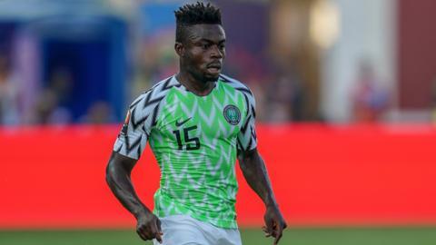 Nigeria's Moses Simon