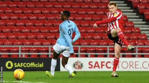 Checkatrade Trophy  Manchester City youngsters lose at Sunderland ... 8cca245be606d