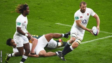 Marland Yarde and Chris Robshaw