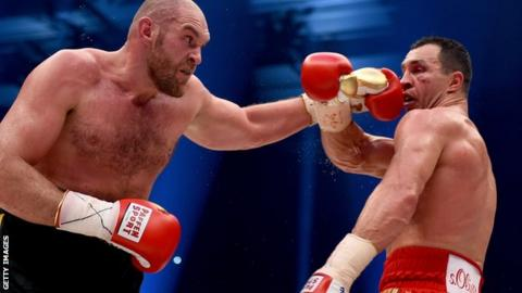 Tyson Fury's suspension set to be lifted subject to medical clearance