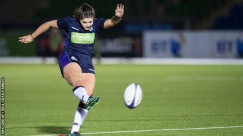 Scotland captain Lisa Thomson could have snatched a draw with a late penalty