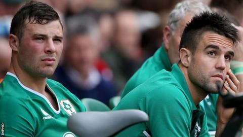 Robbie Henshaw and Conor Murray will be spectators for the rest of the November series