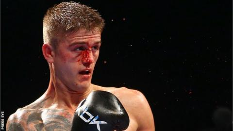 Belfast featherweight Marc McCullough