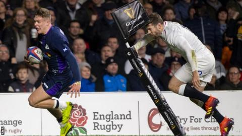 Finn Russell Darcy Graham seized his chance to impress during the Six Nations