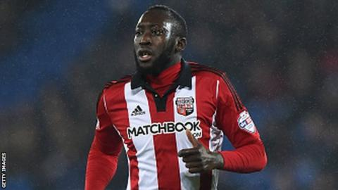 Brentford midfielder Diagouraga has had spells with Portsmouth, Peterbrough and Hereford