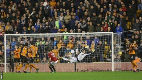 Tom Cairney's volley into the top right corner was Fulham's third goal in the space of 10 minutes at Molineux