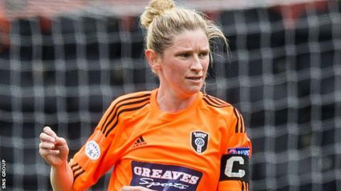 Leanne Ross scored nine goals on Sunday