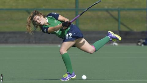 Emily Beatty bagged a double as eased to victory over Scotland in Glasgow on Sunday
