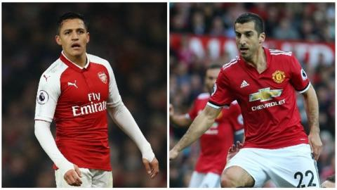 Alexis Sanchez and Henrikh Mkhitaryan