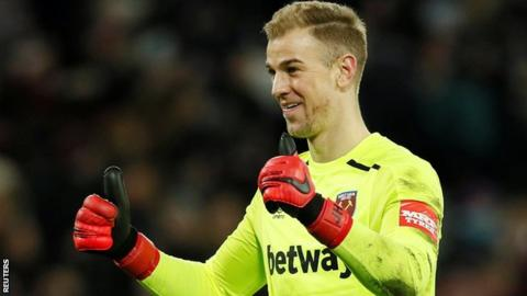 Hart to return to West Ham starting XI