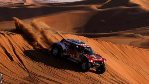 Dakar Rally: Carlos Sainz wins third title as Fernando Alonso finishes 13th