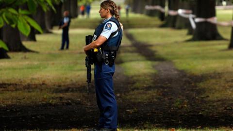 Mosque shooting Christchurch