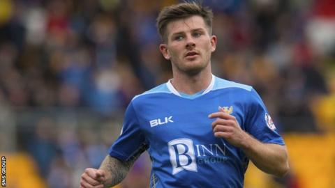 Matty Kennedy will be out of contract at the end of the season