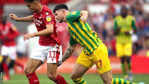 Oliver Burke came off the bench in West Brom's first two games this season but has not featured since playing in the EFL Cup exit at home to Millwall