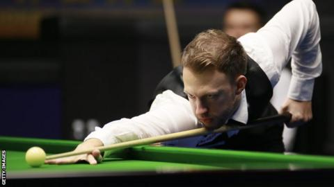 Judd Trump at the World Open in China