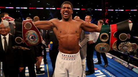 Anthony Joshua may scrap April fight at Wembley