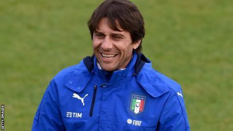 Italy coach Antonio Conte