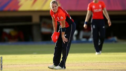 England's Katherine Brunt