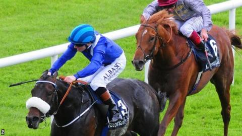 Awtaad wins Irish 2000 Guineas from Galileo Gold
